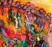 "Australian Landscape (After Freddie) by Belinda ""BillyLee"" NYE (Printmaker)"