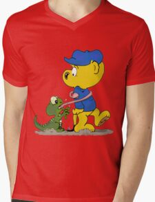 Ferald and The Baby Lizard Mens V-Neck T-Shirt