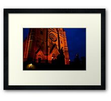 Night Cathedral Framed Print