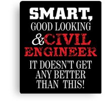 civil engineer Canvas Print