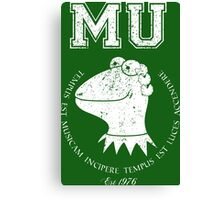 Muppet University Canvas Print