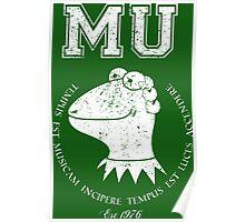 Muppet University Poster