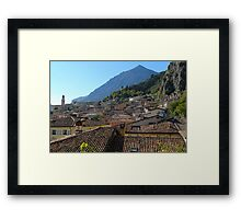 Rustic View Framed Print
