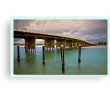 Forster Blue  Canvas Print