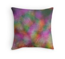 ARTY colors Throw Pillow