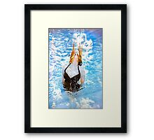 Water in time  Framed Print