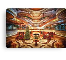 The Grand Lobby Canvas Print