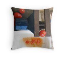 Home made puree Throw Pillow