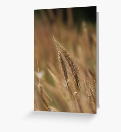 I love Grass. Greeting Card