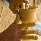 The Hands of the Potter IV by physiognomic