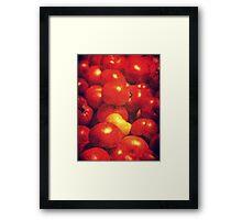 pomodori Framed Print