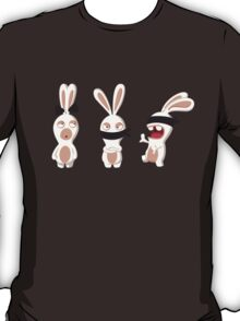 The three wise Rabbids ! T-Shirt