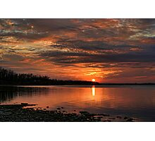 Almost Sundown Photographic Print
