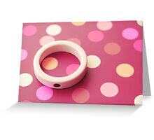 Dots Greeting Card