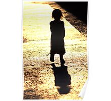 Child backlit Poster