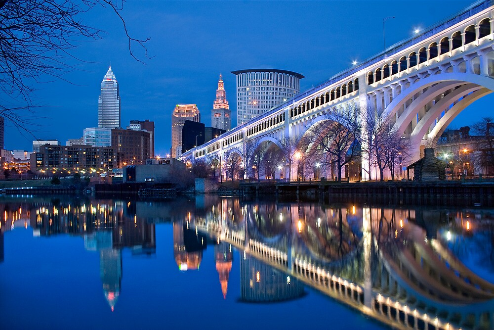 The city of Cleveland by iamwiley