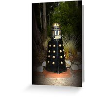 Dalek Letter Box Greeting Card