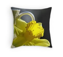 A Jonquil Morning Throw Pillow