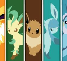 Rainbow Eeveelutions Sticker
