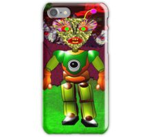 An Alien Starship Trooper on Planet Ykculiain in the Galaxy of Zirene iPhone Case/Skin