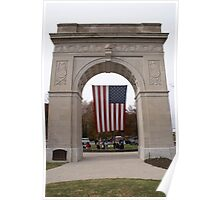 Memorial Arch Poster