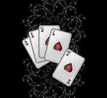 Hand of Cards .. iphone case by LoneAngel