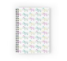 Colourful Elephants Spiral Notebook