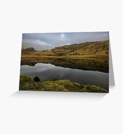 Reflective Blea Tarn  Greeting Card