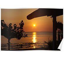 Sunset Beer bungalow 1 Poster