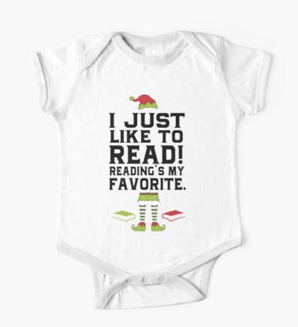 Reading Is My Favorite!  One Piece - Short Sleeve