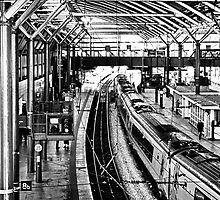 Leeds Station by Glen Allen