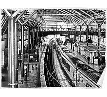 Leeds Station Poster