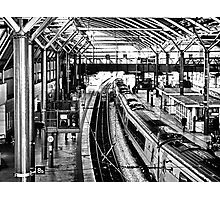 Leeds Station Photographic Print