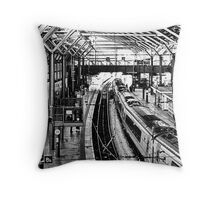 Leeds Station Throw Pillow