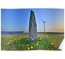 Cornwall:Springtime at the Gaia Energy Centre Poster