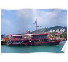 Buddha Pier View Poster