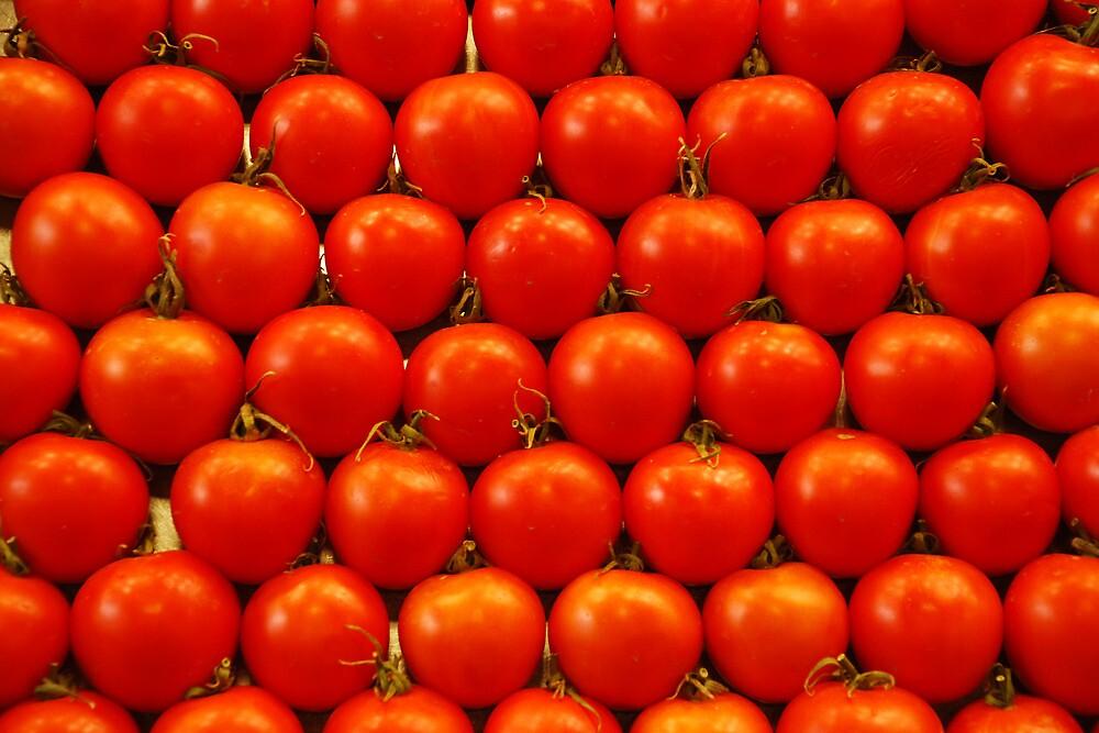 Spanish tomatoes by Arie Koene