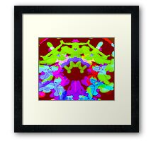 Fracturous Framed Print