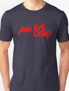 ASH VS EVIL DEAD TITLE Red T-Shirt
