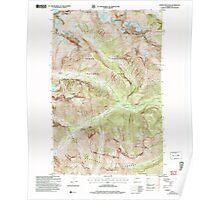 USGS Topo Map Washington State WA Goode Mountain 241353 2004 24000 Poster