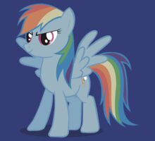 Rainbow Dash stance by dopy
