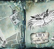 Alice book cover by MariaMukha