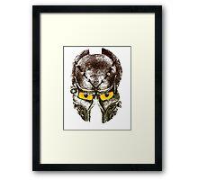 Viking helmet Framed Print