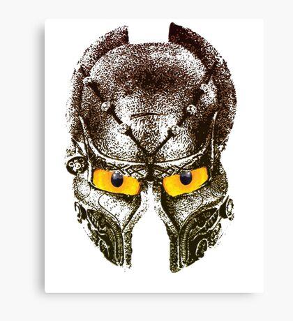 Viking helmet Canvas Print