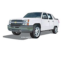 Chevrolet Avalanche Photographic Print