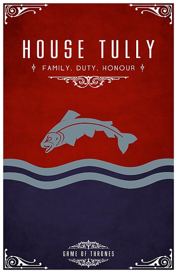 House Tully by liquidsouldes
