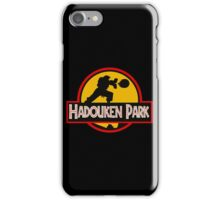 Hadouken Park iPhone Case/Skin