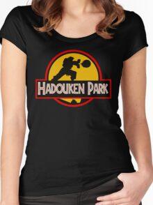 Hadouken Park Women's Fitted Scoop T-Shirt