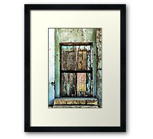 Door To The UnKnown Framed Print