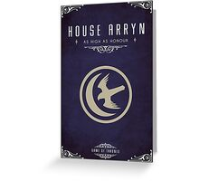 House Arryn Greeting Card